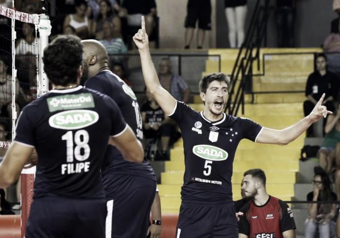 Sada Cruzeiro derrota Sesc RJ e garante vaga na decisão da Copa Brasil contra Sesi-SP