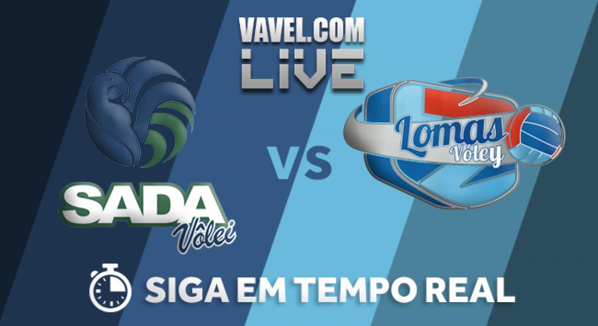 Resultado Sada Cruzeiro x Lomas Voley pela final do Sul-Americano de Vôlei (3-0)
