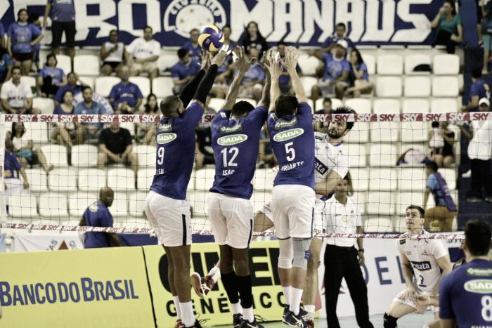 Antes de disputar Mundial, Sada Cruzeiro encerra primeiro turno com vitória sobre Vôlei Renata