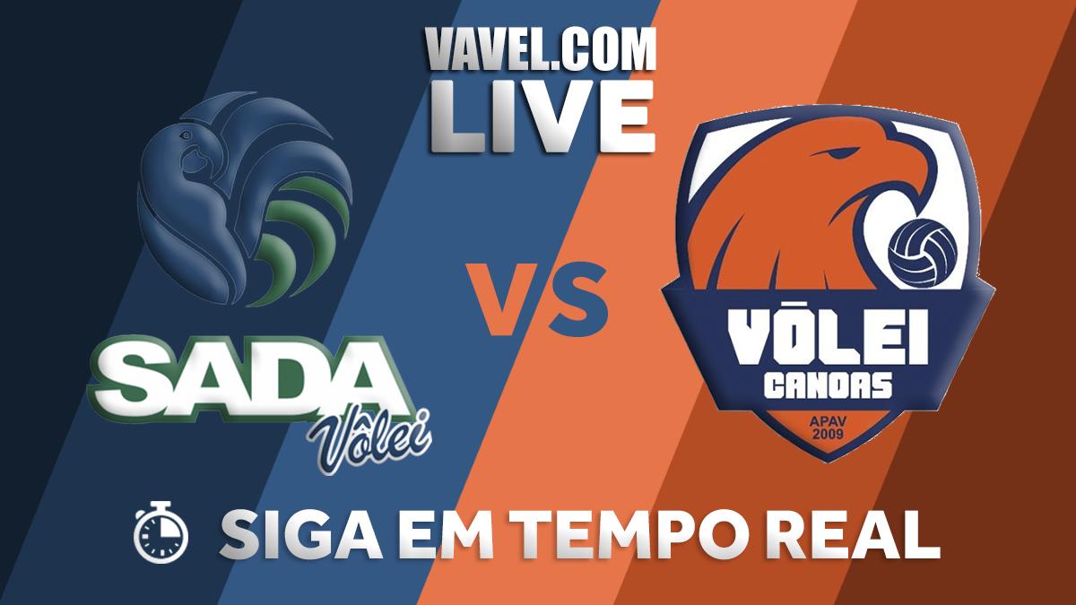 Resultado Canoas x Sada Cruzeiro pelos playoffs da Superliga Masculina (0-3)