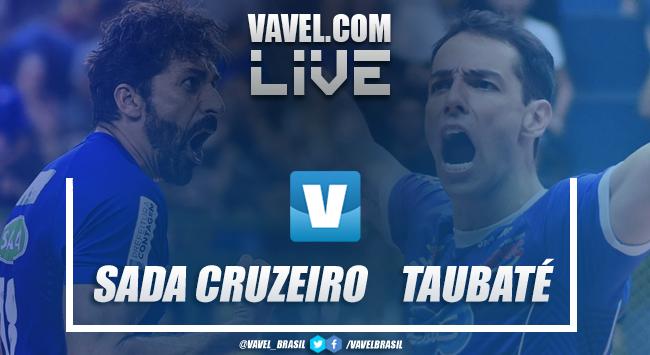 Resultado Sada Cruzeiro x EMS Taubaté online pela semifinal da Superliga Masculina 2019 (1-3)