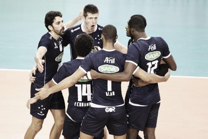 Favorito ao título, Sada Cruzeiro encerra preparação para o Mundial de Clubes