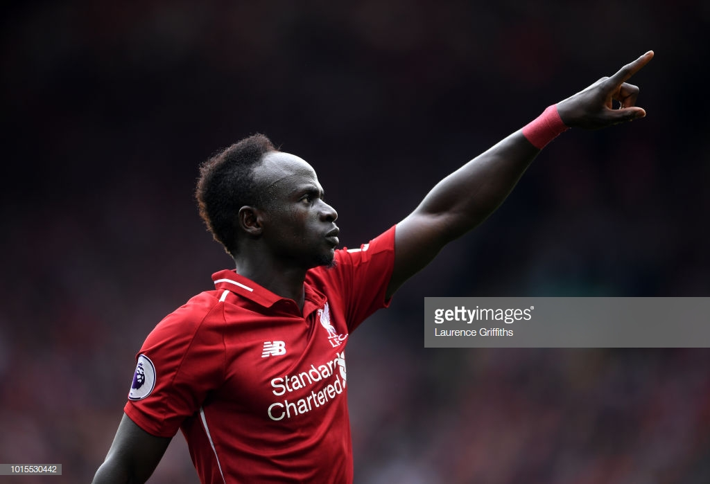 Liverpool's Sadio Mané wins PFA Player of the Month for August