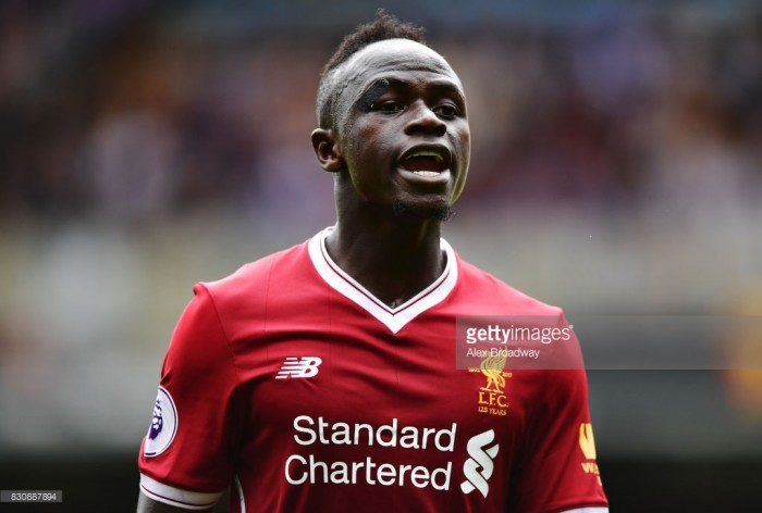 Sadio Mane out for up to six weeks and could miss Liverpool's next ten games