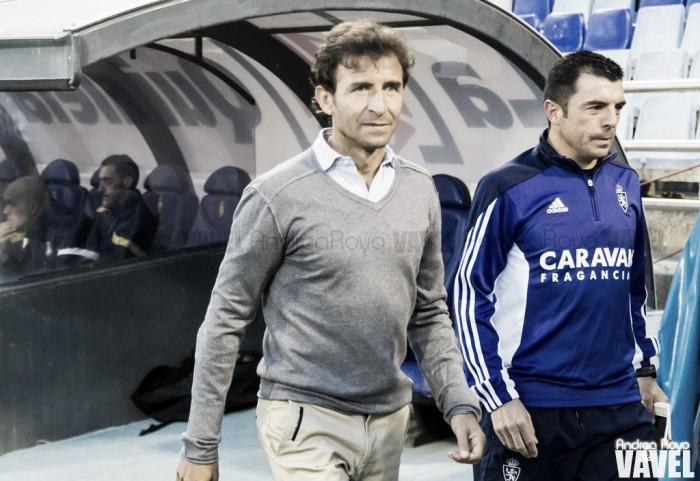 """Luis Milla: """"Juegan contra el Zaragoza"""""""