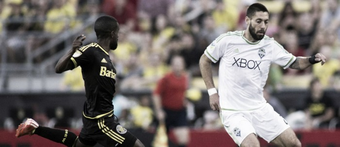 Seattle Sounders host Columbus Crew SC in a building Rivalry Week Matchup