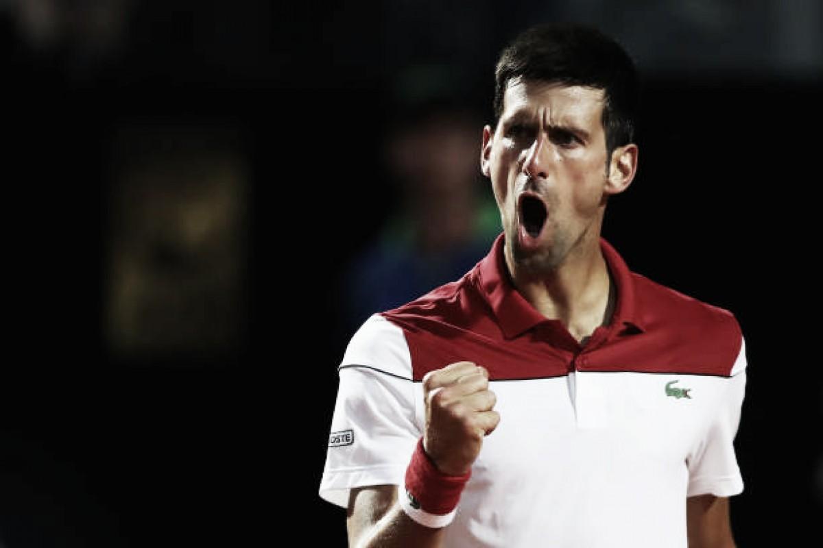 Djokovic vence Ramos-Vinolas em Roma e alcança primeira quartas de final no ano