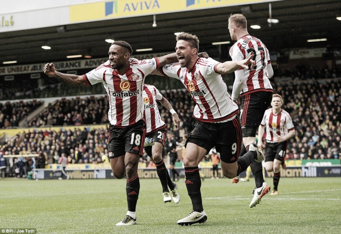 Norwich City 0-3 Sunderland: Black Cats survival hopes boosted by convincing Canaries victory