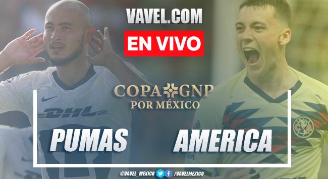 Copa GNP Pumas 0-0 América: Resumen y salomónico empate en C.U.