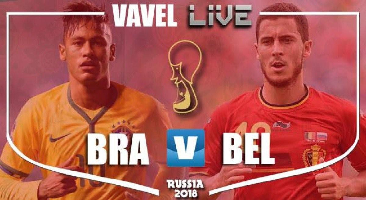 Terminata Brasile-Belgio, LIVE Mondiali Russia 2018 (1-2): Brasile fuori. Impresa autentica del Belgio!
