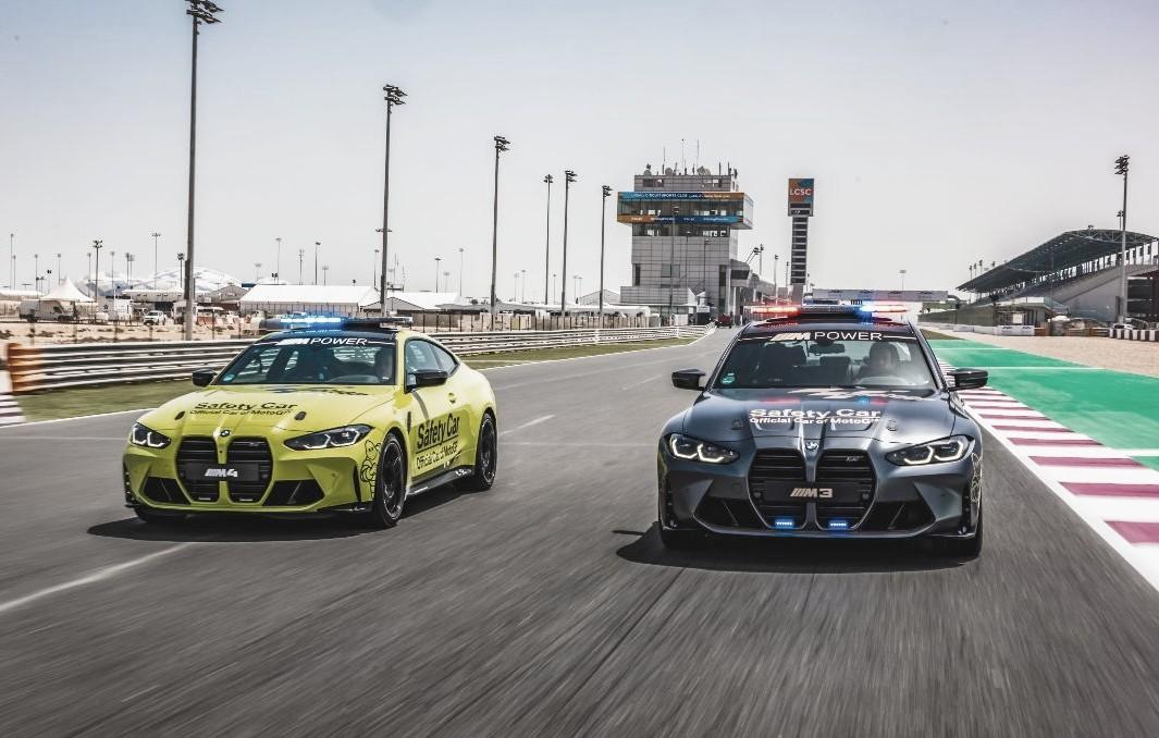 BMW M estrena los vehículos de seguridad para MotoGP 2021