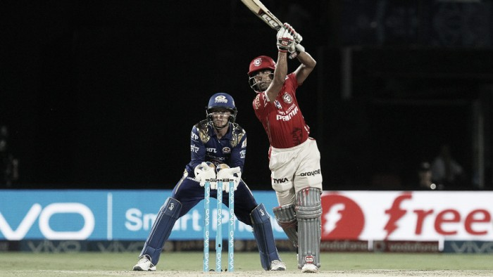 IPL: Kings XI ease past Mumbai Indians to move off the bottom of the table