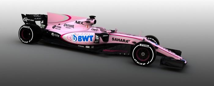 Oficial: Force India fecha acordo com BWT e seus carros passam a ser rosa