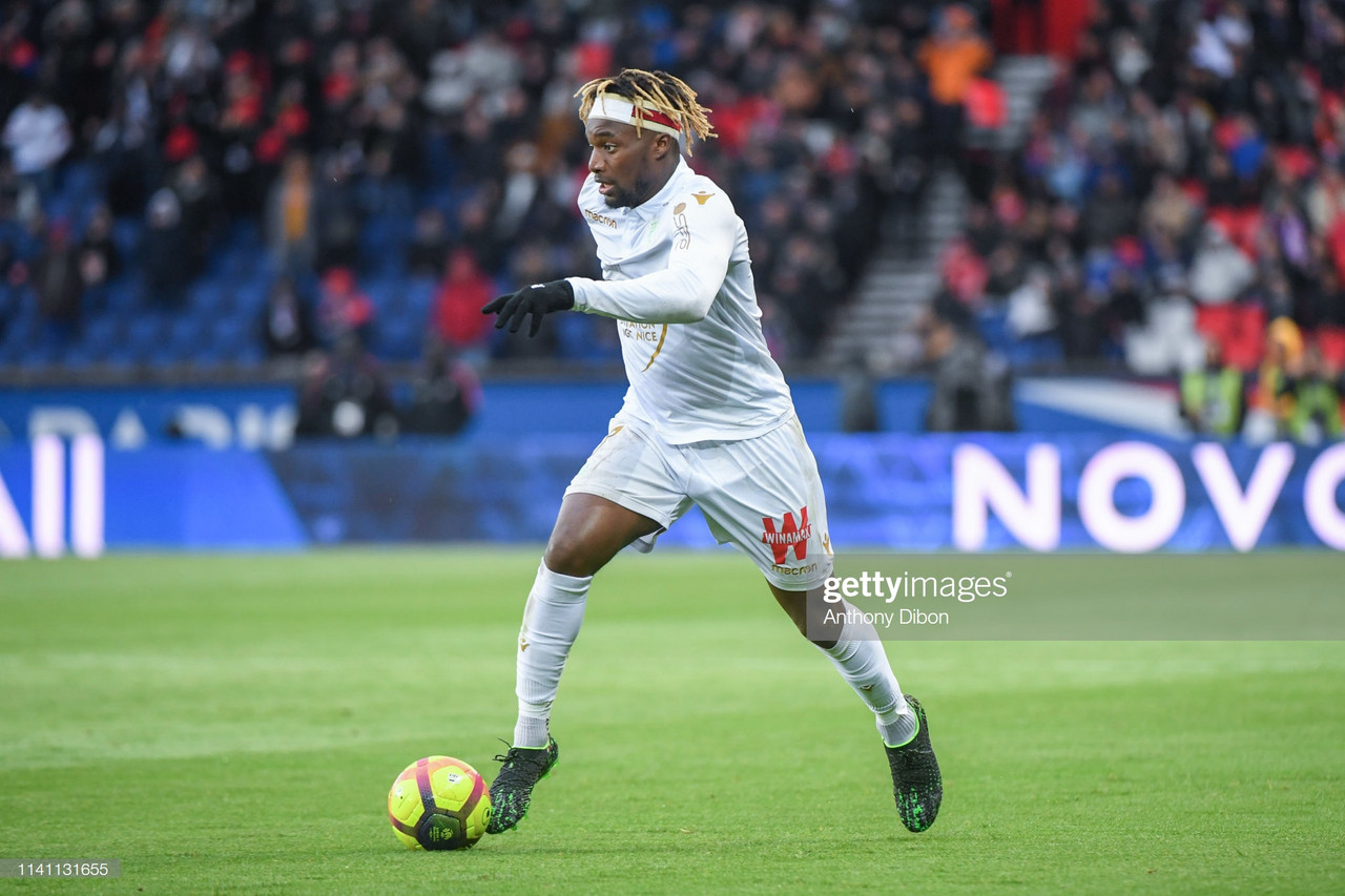 Newcastle reignite interest in Nice winger Saint-Maximin