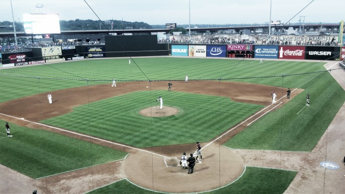 St. Paul Saints use big first inning to defeat Gary Southshore Railcats 6-5