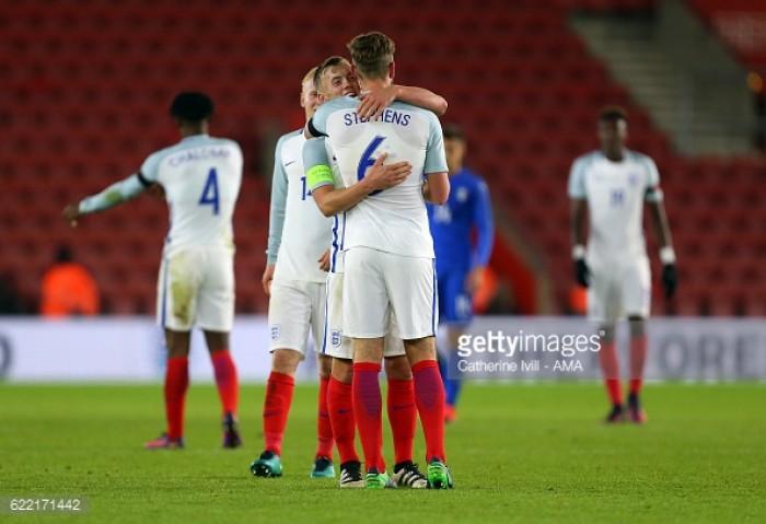 England under-21 3-2 Italy under-21: Stephens strikes winner on home ground