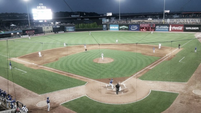 Sioux Falls Canaries defeat St. Paul Saints 7-4 thanks to five-run inning