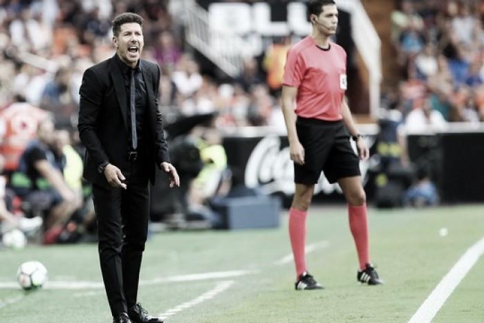Simeone elogia atuação da equipe, mas lamenta oportunidades desperdiçadas