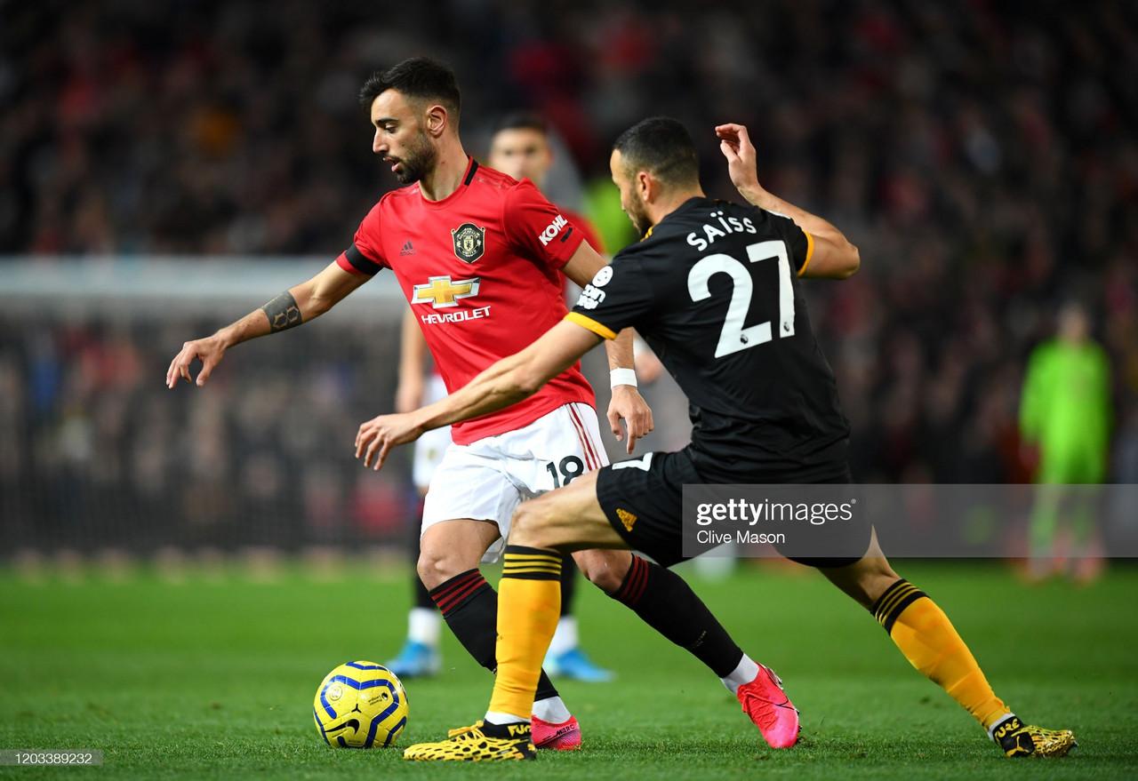 Manchester United vs Wolverhampton Wanderers- Predicted Line-Ups