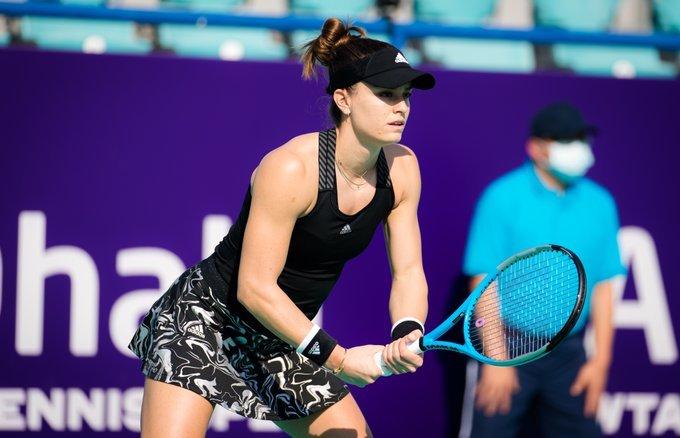 WTA Abu Dhabi Day 1 wrapup: Sakkari, Putintseva, Jabeur advance; Kontaveit, Vekic upset