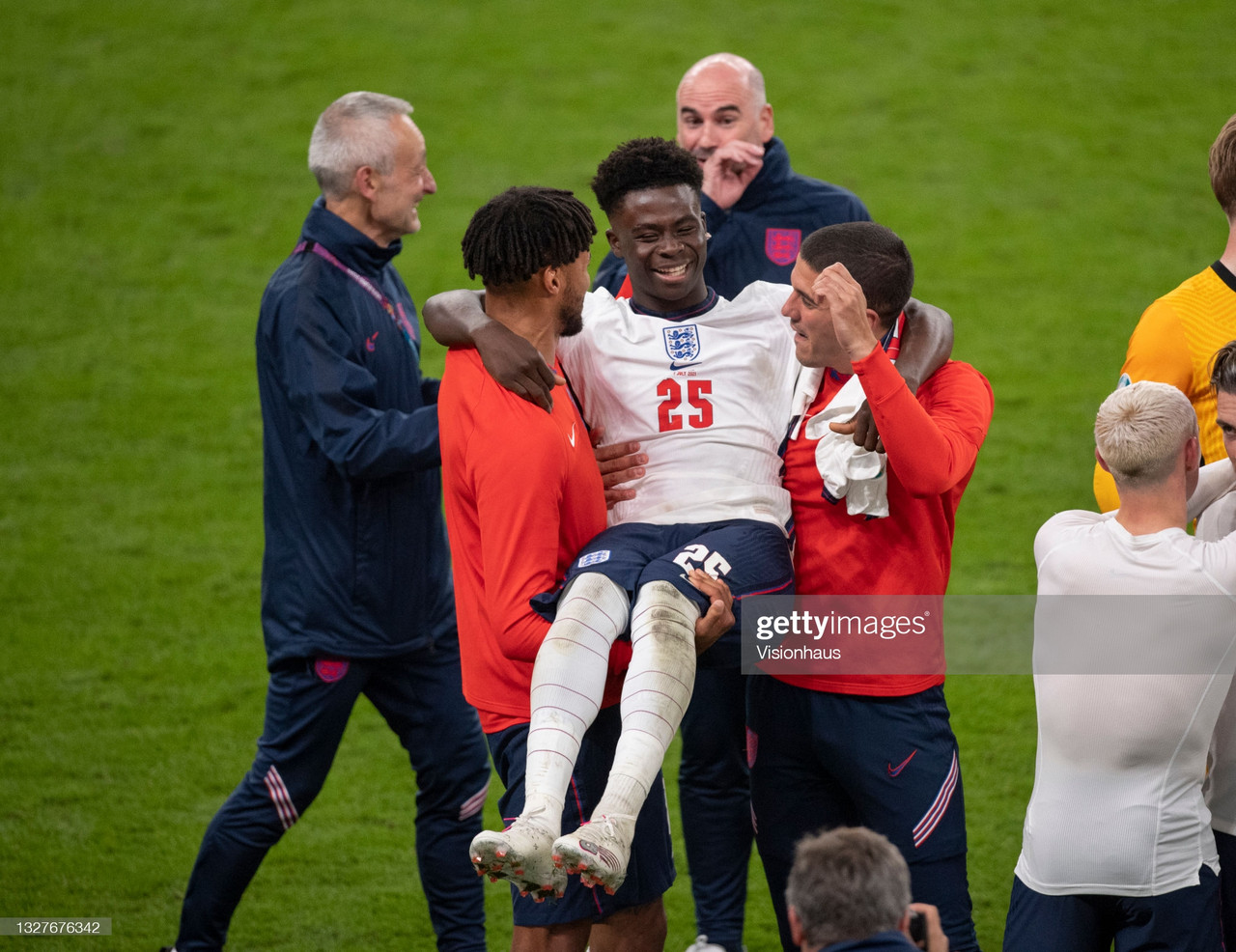 Bukayo Saka is only 19, but is a symbol for everything right in the modern-day England team