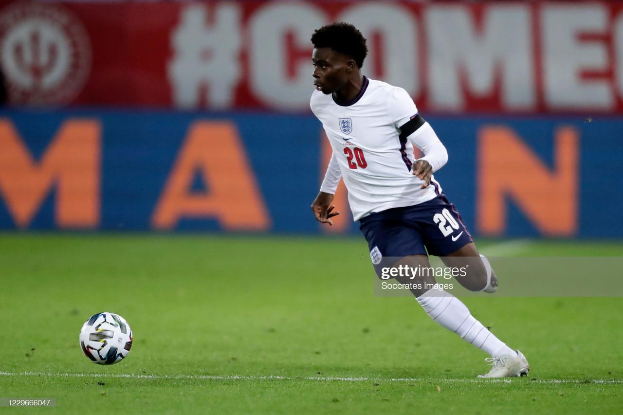 Bukayo Saka: The England hopeful