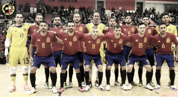 La Selección vence con autoridad a Bélgica en La Nucía