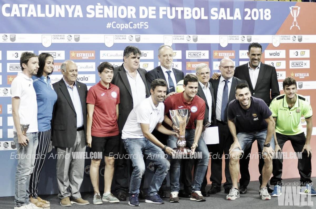 La FCF presenta la Copa Catalunya Sènior