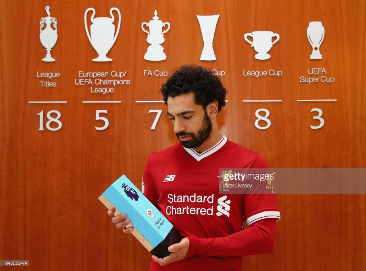 Mohamed Salah scoops record-breaking third Player of the Month award during one season