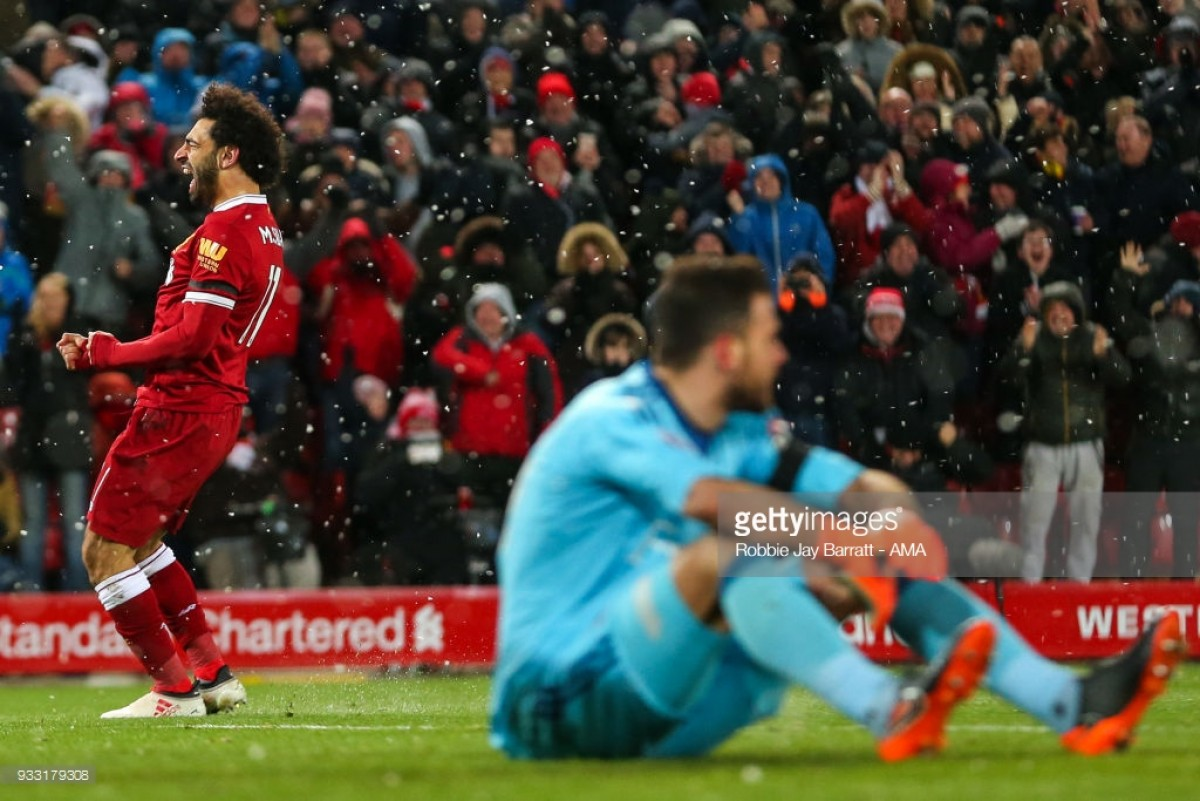 Mo Salah actually apologised to Watford's goalkeeper after ruining his weekend