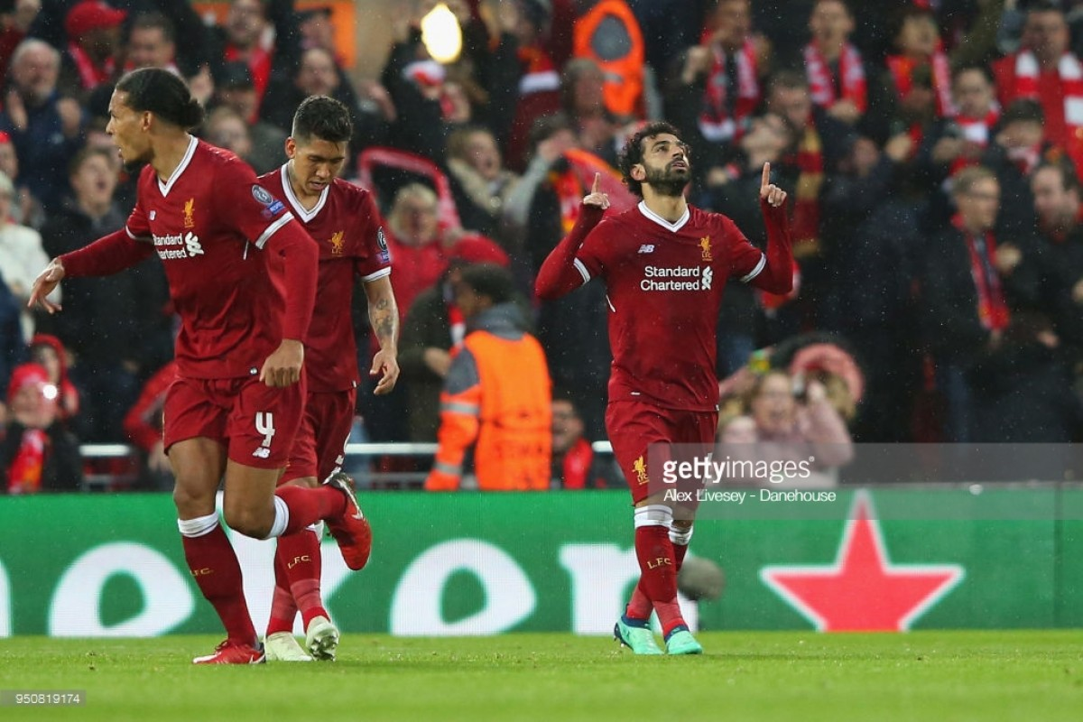 Liverpool 5-2 AS Roma: Salah shines as Reds dominate first leg
