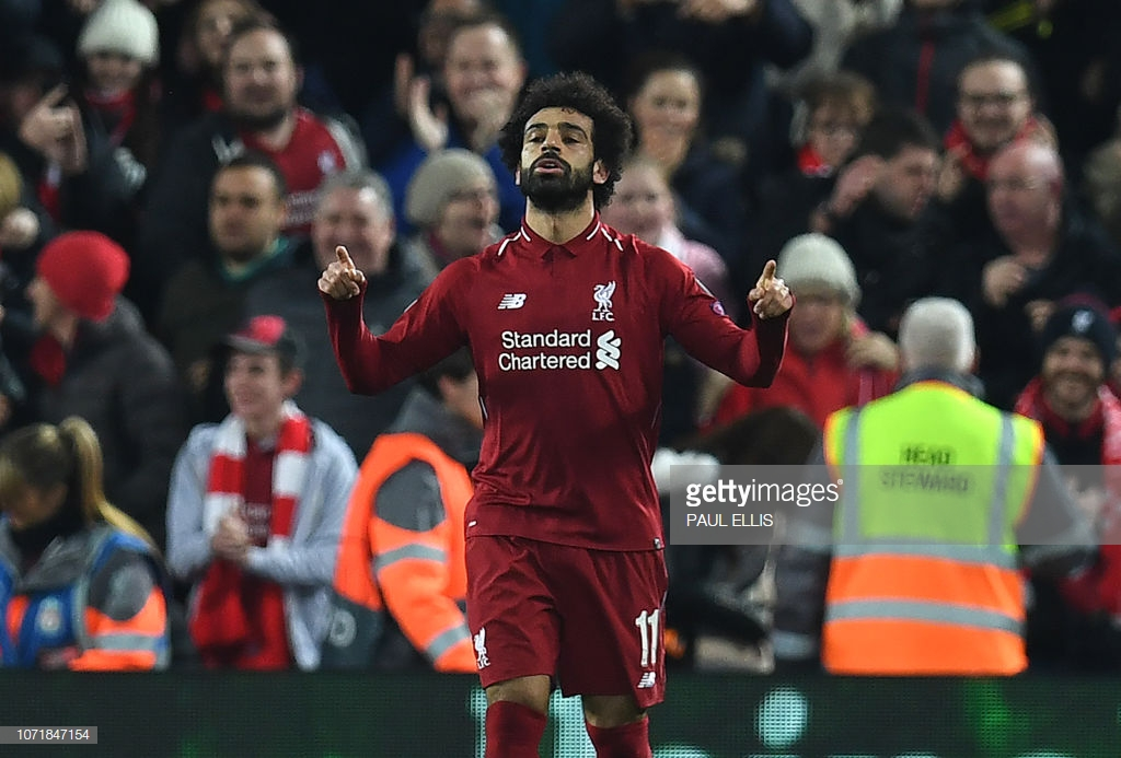 Liverpool 1-0 Napoli: Salah goal and Alisson save send the Reds through to knockout rounds