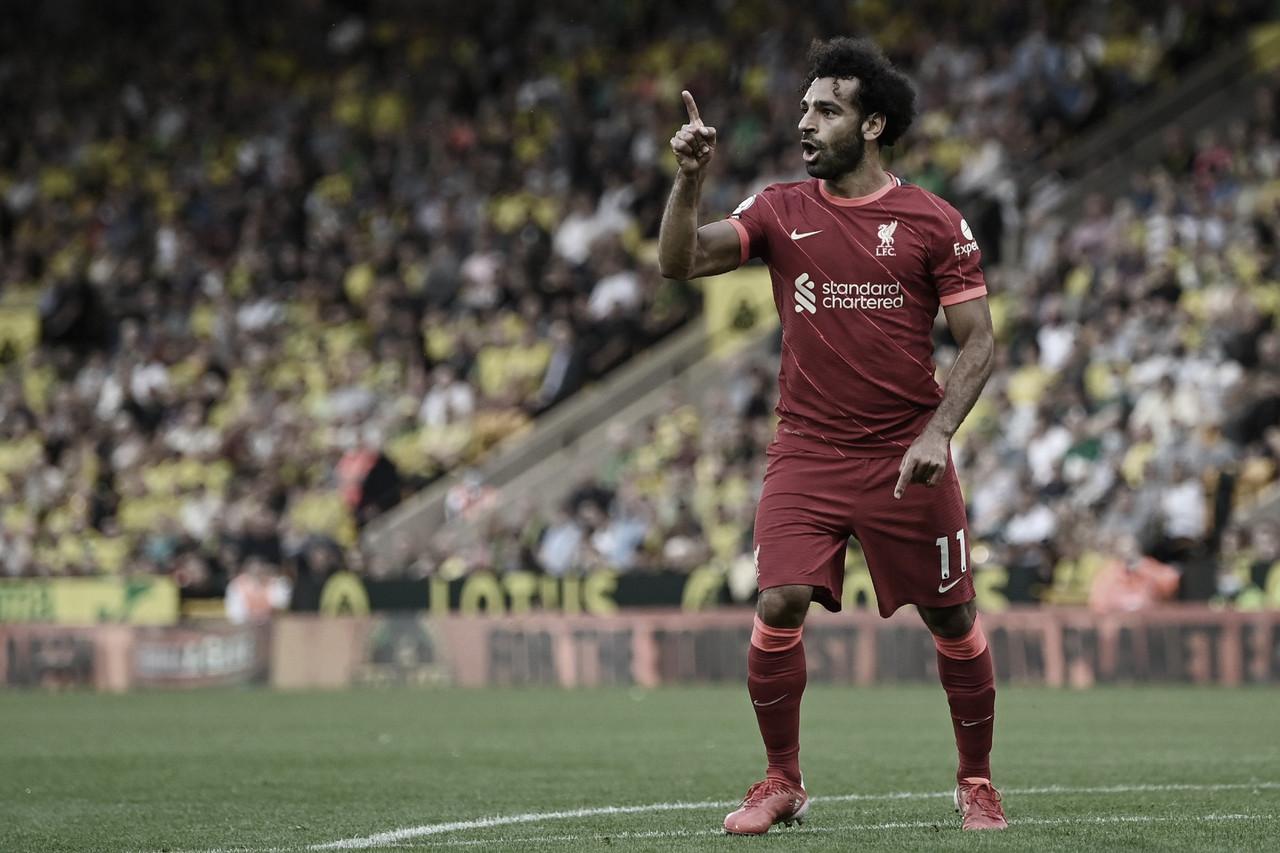 Sem maiores dificuldades, Liverpool derrota Norwich fora de casa