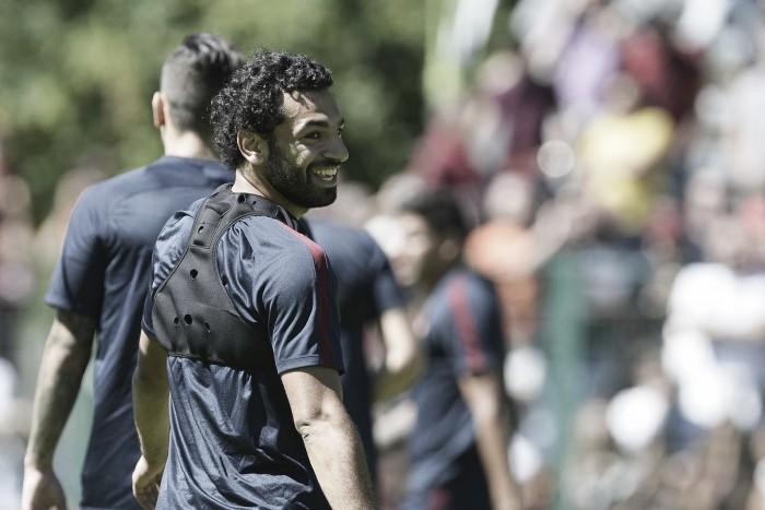 """Atacante Salah se mostra confiante na Roma: """"Vamos lutar para ganhar"""""""