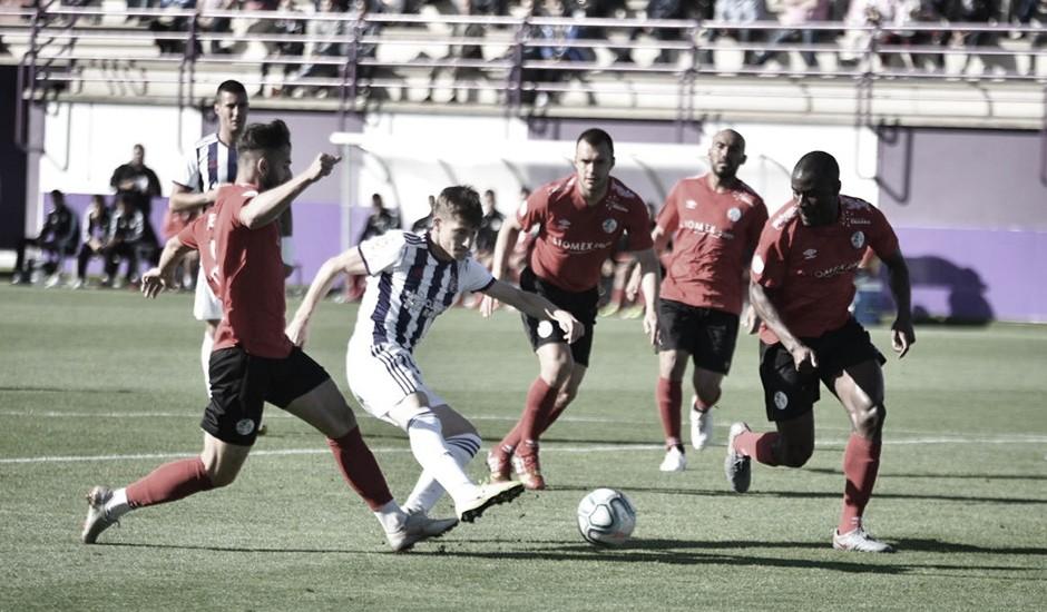 El Real Valladolid gana al Salamanca CF UDS en un amistoso