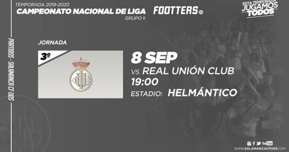 Previa: Salamanca CF - Real Unión: El líder recibe la visita del Real Unión de Irún
