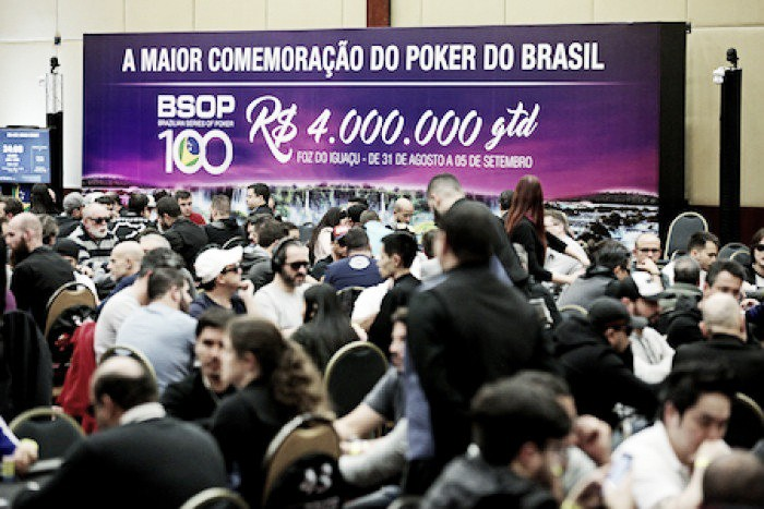 Fichas no Pano, capítulo 1: a prática de Poker no BSOP 100
