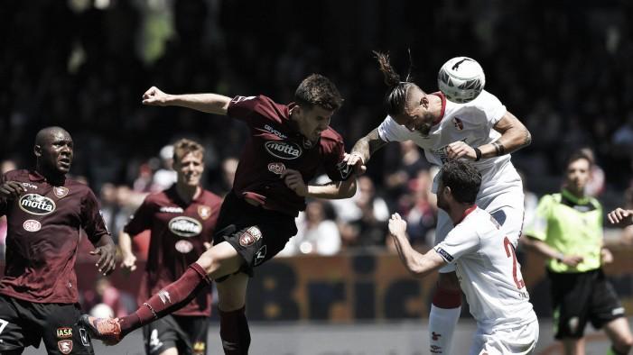 Salernitana-Bari 0-0, il commento di Bollini e Sogliano