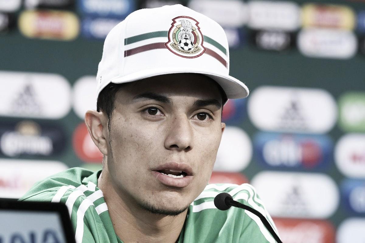 """Carlos Salcedo: """"No veo por qué no se le pueda ganar a Alemania"""""""