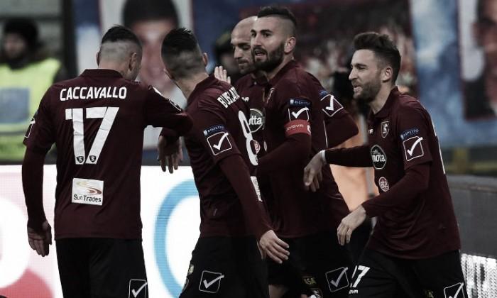 Serie B - La Salernitana espugna Chiavari con un gol di Coda