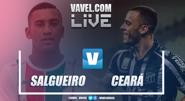 Resultado e gols de Salgueiro x Ceará pela Copa do Nordeste (1-3)