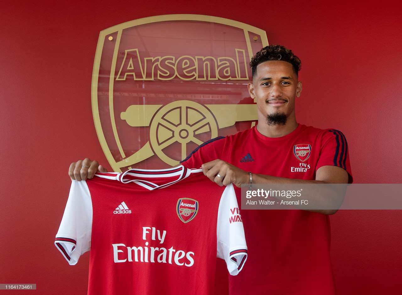 Arsenal complete signing of William Saliba from Saint-Etienne