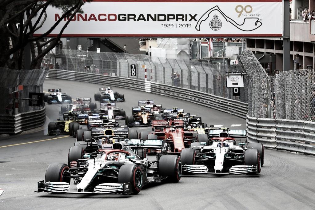El GP de Mónaco, con público en las gradas