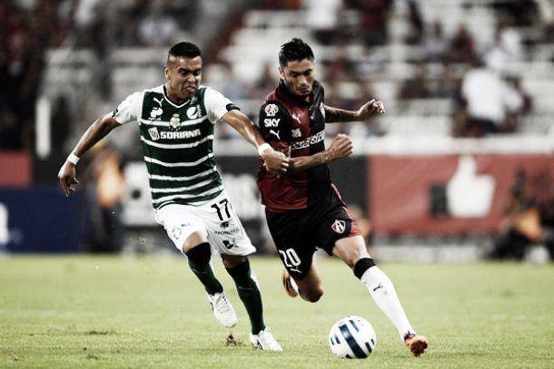 Santos Laguna - Atlas: buscando la cima en la liga