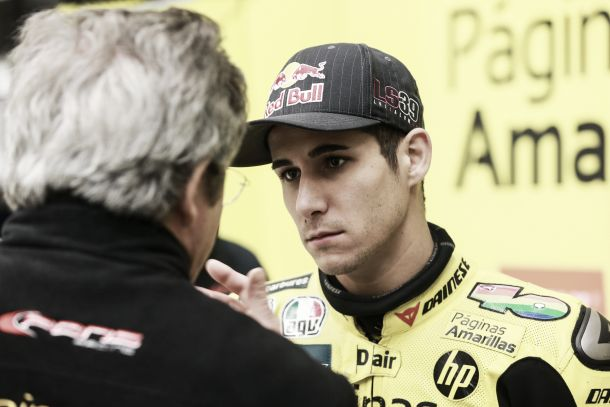 "Luis Salom: ""Al final hemos encontrado un buen feeling con la moto"""