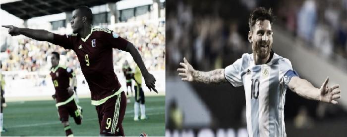 Cara a Cara: Messi vs Rondón
