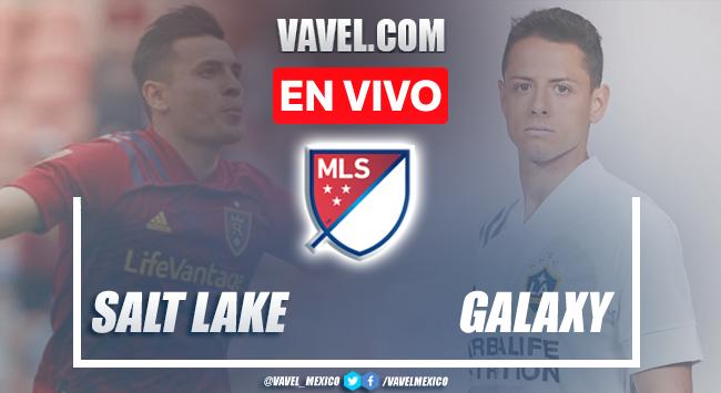 Goles y resumen del Real Salt Lake 2-2 Los Ángeles Galaxy en MLS 2021