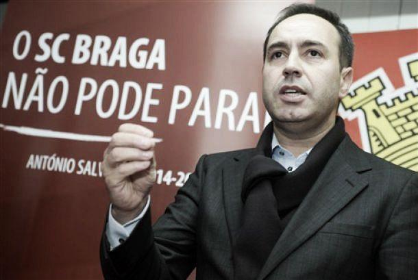 Braga na final da Taça com Salvador ambicioso:«Vamos ter 6 milhões no Jamor»