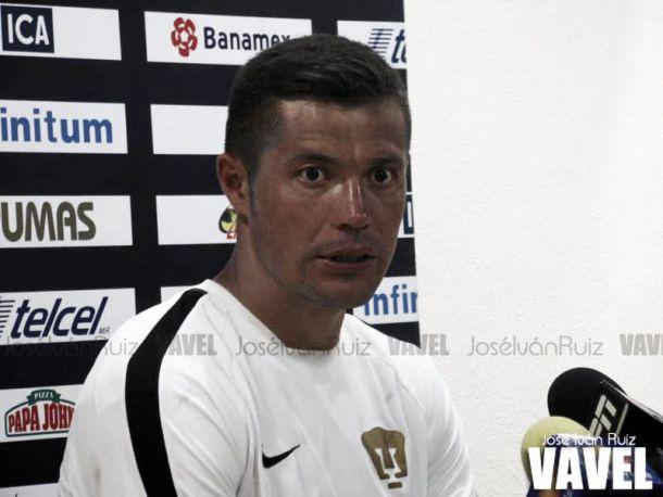 """Dante López: """"Los dos tenemos la misma presión"""""""