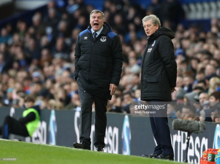 Crystal Palace boss Hodgson not downbeat after Everton defeat